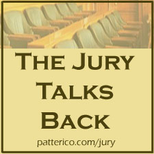 Jury Talks Back Ad