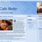 J's Cafe Nette bleu