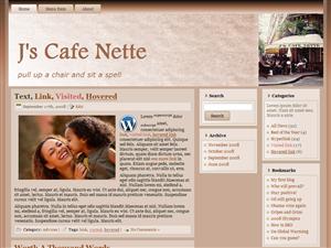 J's Cafe Nette Brun